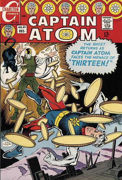 Cover for Captain Atom (Charlton, 1965 series) #89