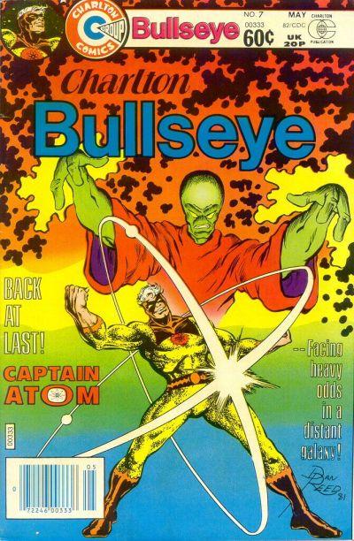 Cover for Charlton Bullseye (Charlton, 1981 series) #7