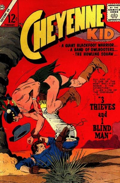 Cover for Cheyenne Kid (Charlton, 1957 series) #44