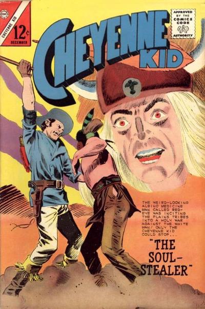 Cover for Cheyenne Kid (Charlton, 1957 series) #48