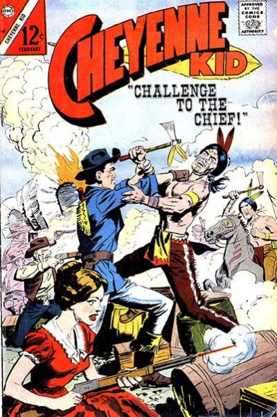 Cover for Cheyenne Kid (Charlton, 1957 series) #60