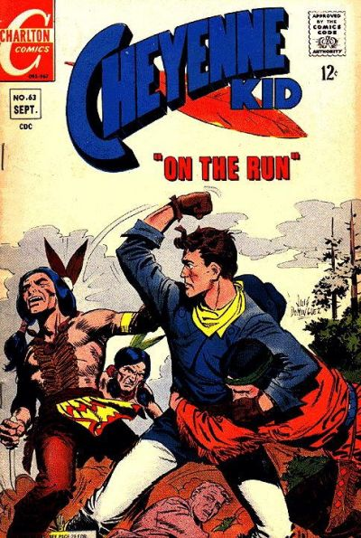 Cover for Cheyenne Kid (Charlton, 1957 series) #63