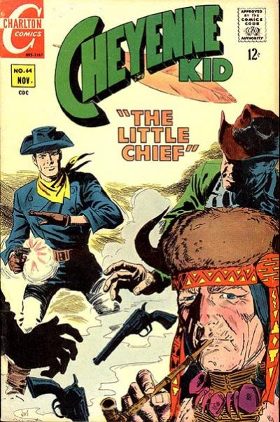 Cover for Cheyenne Kid (Charlton, 1957 series) #64