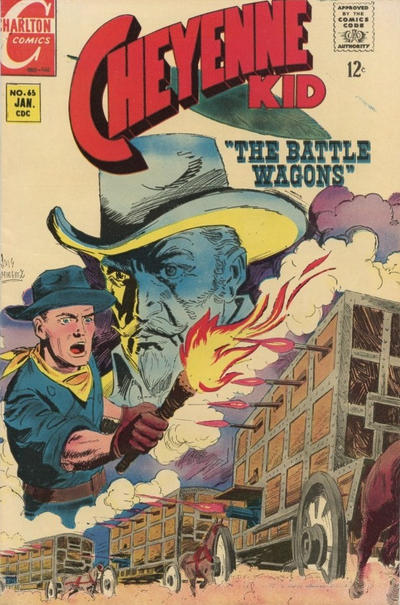 Cover for Cheyenne Kid (Charlton, 1957 series) #65