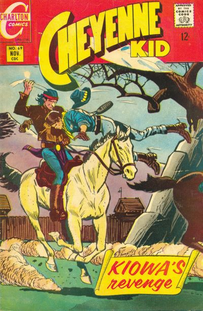 Cover for Cheyenne Kid (Charlton, 1957 series) #69