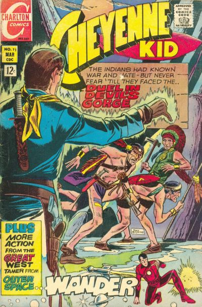 Cover for Cheyenne Kid (Charlton, 1957 series) #71