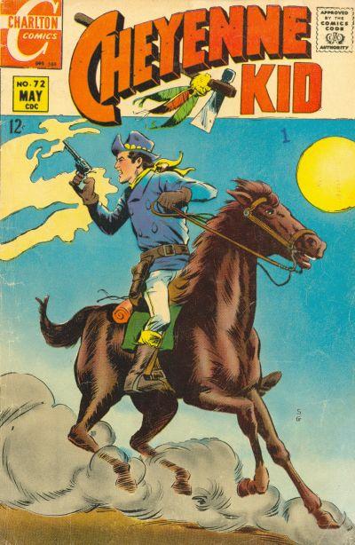 Cover for Cheyenne Kid (Charlton, 1957 series) #72