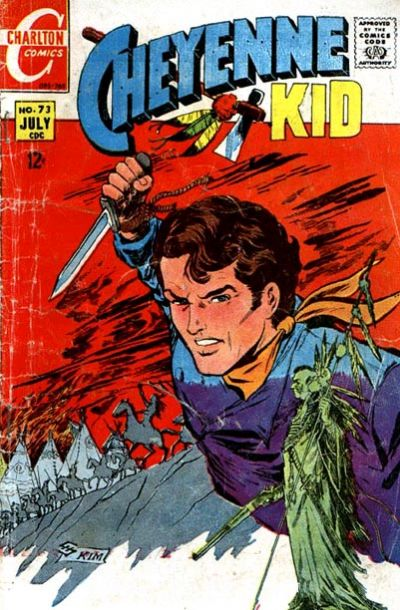 Cover for Cheyenne Kid (Charlton, 1957 series) #73