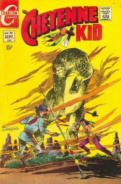 Cover for Cheyenne Kid (Charlton, 1957 series) #74