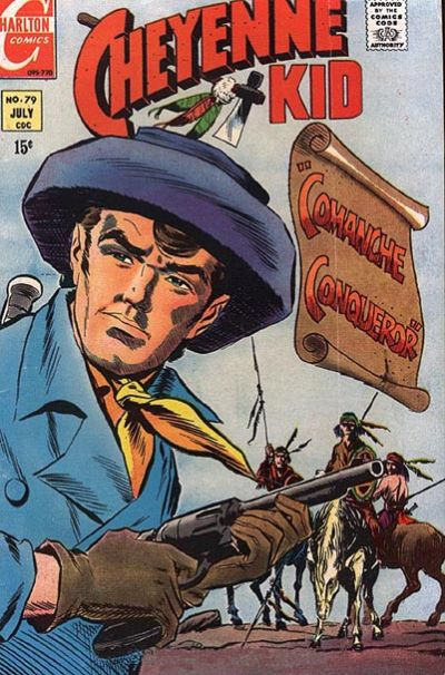 Cover for Cheyenne Kid (Charlton, 1957 series) #79