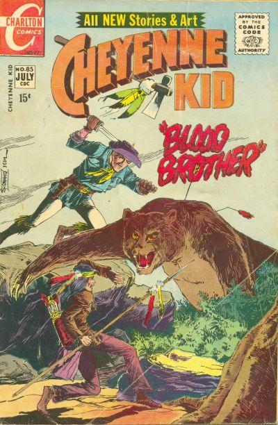 Cover for Cheyenne Kid (Charlton, 1957 series) #85