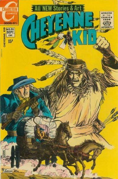 Cover for Cheyenne Kid (Charlton, 1957 series) #86