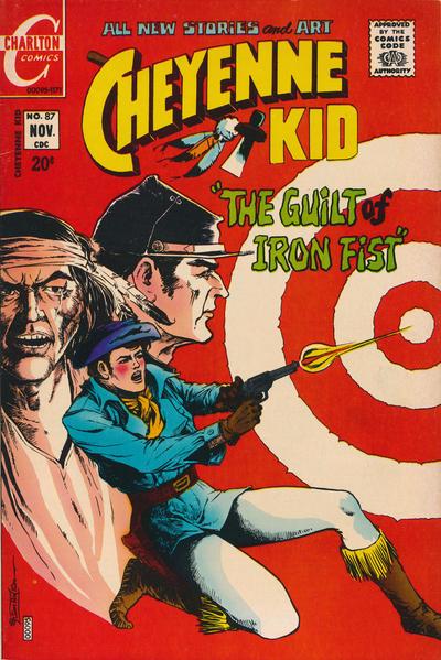 Cover for Cheyenne Kid (Charlton, 1957 series) #87