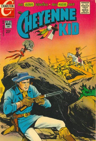 Cover for Cheyenne Kid (Charlton, 1957 series) #89