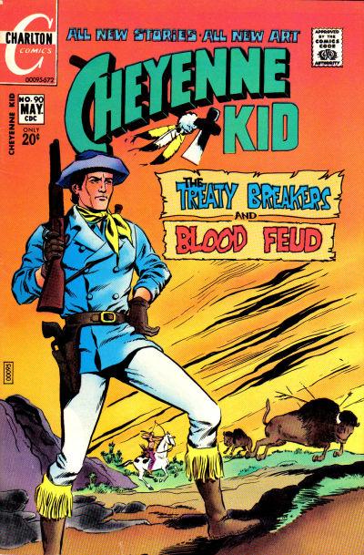 Cover for Cheyenne Kid (Charlton, 1957 series) #90
