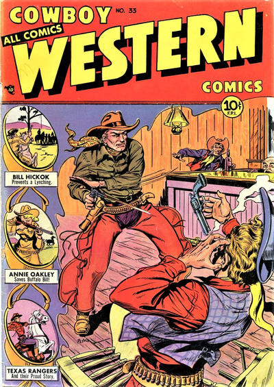 Cover for Cowboy Western Comics (Charlton, 1948 series) #33