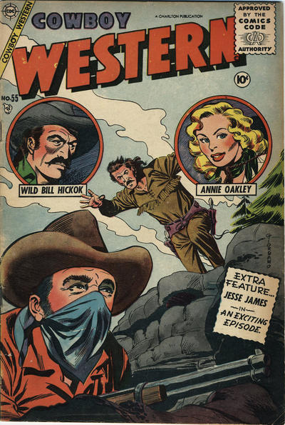 Cover for Cowboy Western (Charlton, 1954 series) #55