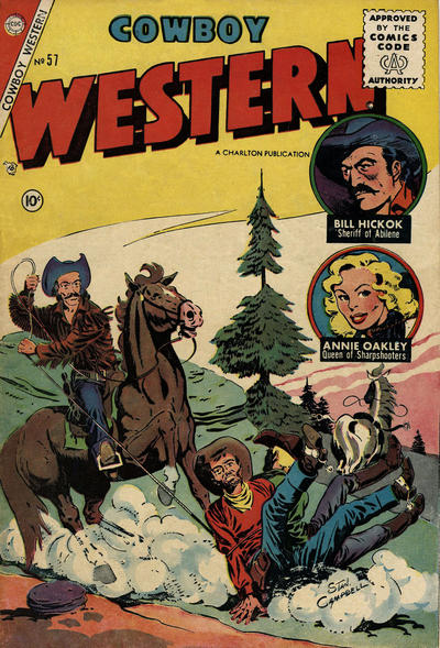 Cover for Cowboy Western (Charlton, 1954 series) #57