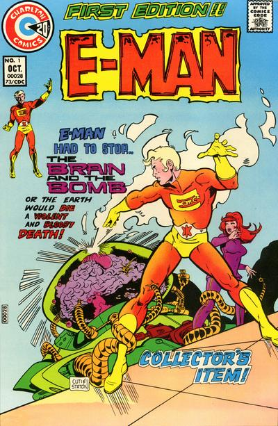 Cover for E-Man (Charlton, 1973 series) #1