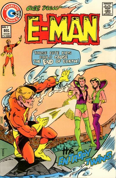 Cover for E-Man (Charlton, 1973 series) #2
