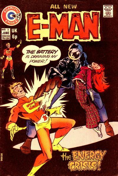 Cover for E-Man (Charlton, 1973 series) #3