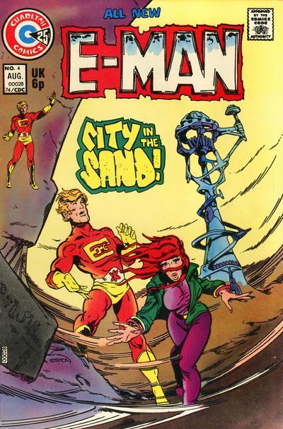 Cover for E-Man (Charlton, 1973 series) #4
