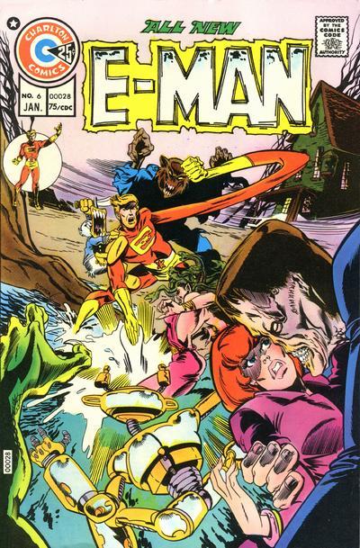 Cover for E-Man (Charlton, 1973 series) #6