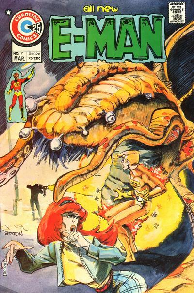 Cover for E-Man (Charlton, 1973 series) #7
