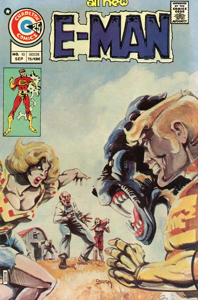 Cover for E-Man (Charlton, 1973 series) #10