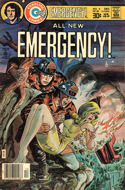 Cover for Emergency (Charlton, 1976 series) #4