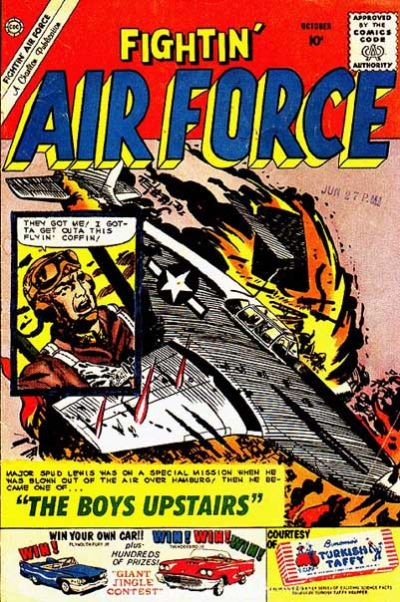 Cover for Fightin' Air Force (Charlton, 1956 series) #23