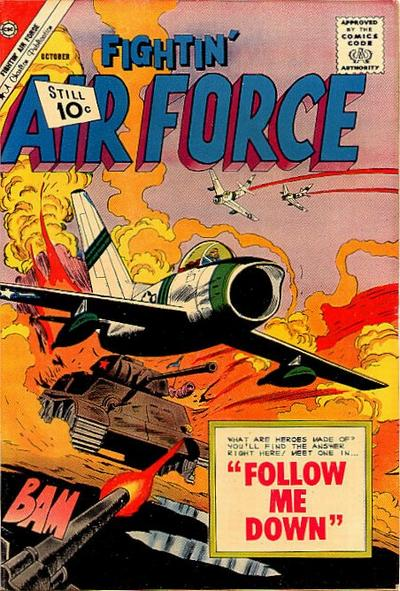 Cover for Fightin' Air Force (Charlton, 1956 series) #29