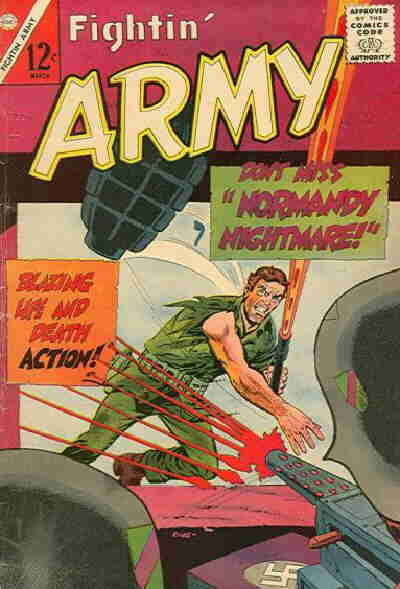 Cover for Fightin' Army (Charlton, 1956 series) #67