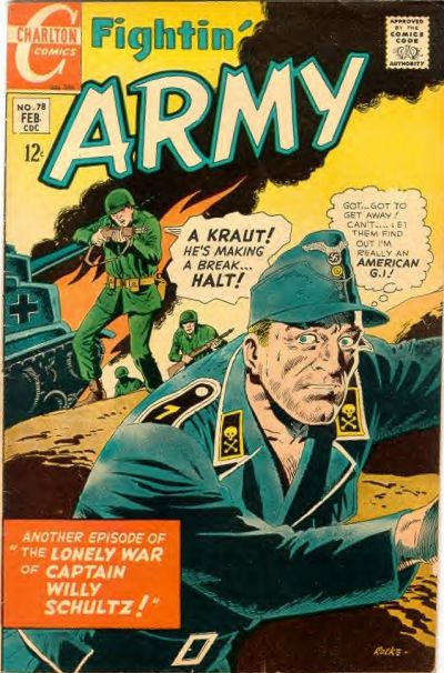 Cover for Fightin' Army (Charlton, 1956 series) #78
