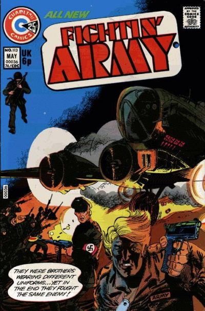 Cover for Fightin' Army (Charlton, 1956 series) #113