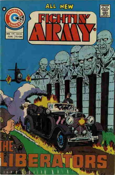 Cover for Fightin' Army (Charlton, 1956 series) #119