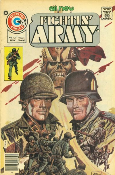 Cover for Fightin' Army (Charlton, 1956 series) #121