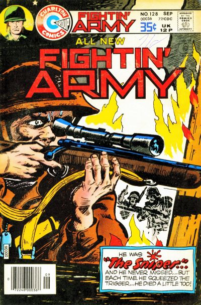 Cover for Fightin' Army (Charlton, 1956 series) #128