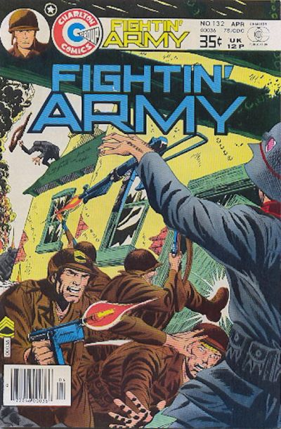 Cover for Fightin' Army (Charlton, 1956 series) #132