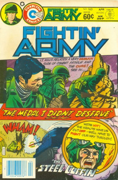 Cover for Fightin' Army (Charlton, 1956 series) #163