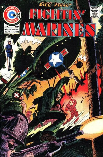 Cover for Fightin' Marines (Charlton, 1955 series) #119
