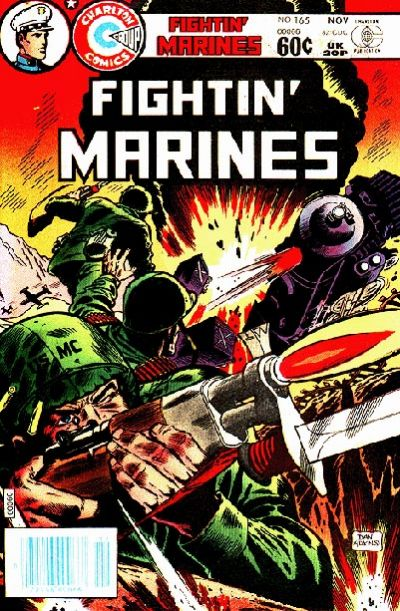 Cover for Fightin' Marines (Charlton, 1955 series) #165