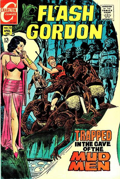 Cover for Flash Gordon (Charlton, 1969 series) #13