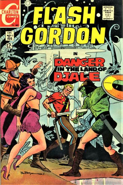 Cover for Flash Gordon (Charlton, 1969 series) #15
