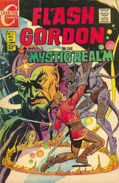 Cover for Flash Gordon (Charlton, 1969 series) #16