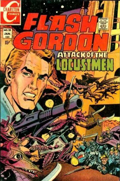 Cover for Flash Gordon (Charlton, 1969 series) #18