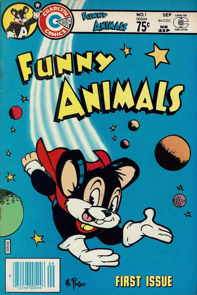 Cover for Funny Animals (Charlton, 1984 series) #1