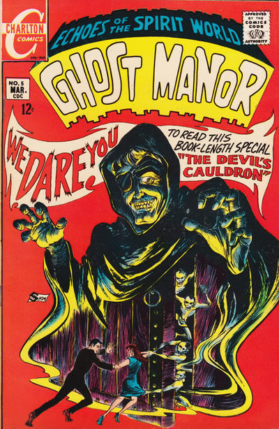 Cover for Ghost Manor (Charlton, 1968 series) #5