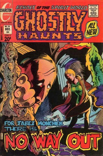 Cover for Ghostly Haunts (Charlton, 1971 series) #28