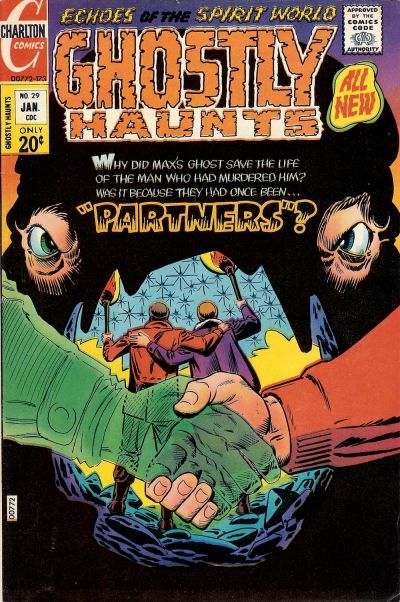 Cover for Ghostly Haunts (Charlton, 1971 series) #29